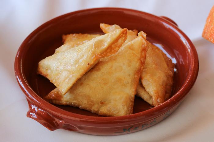 Food to eat in Greece - tiropites