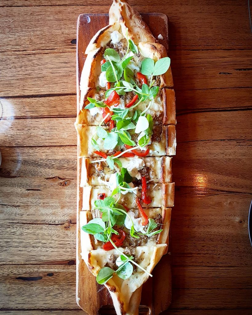 Turkish food - pide