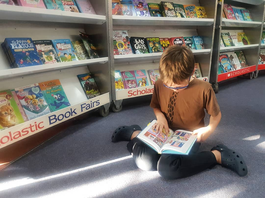 Free things to do in Perth with kids - library