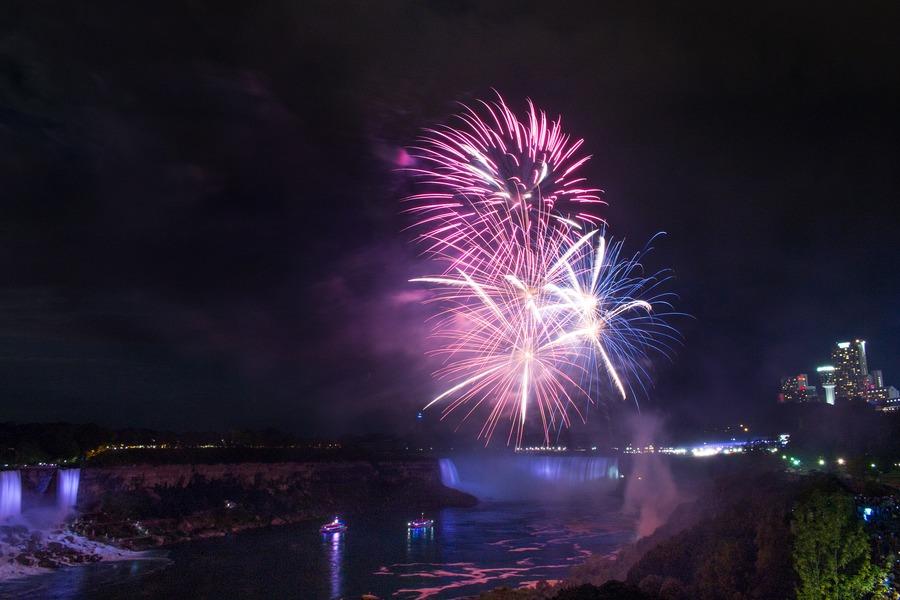 Visit Niagara Falls - fireworks