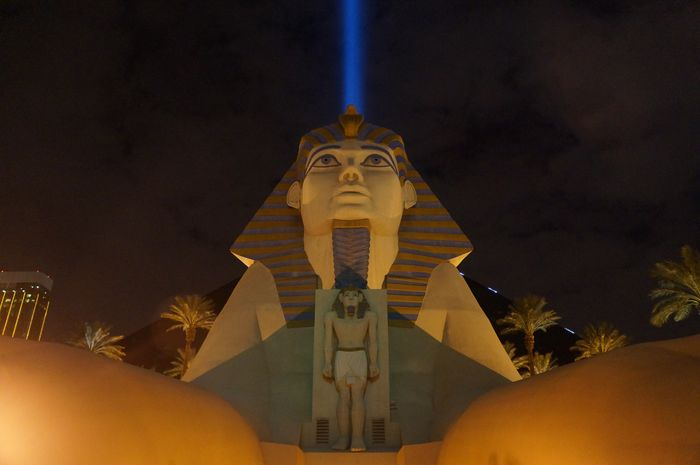 Las Vegas with kids - Luxor