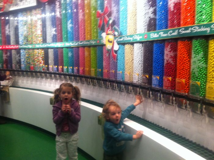 Las Vegas with kids - M&M World