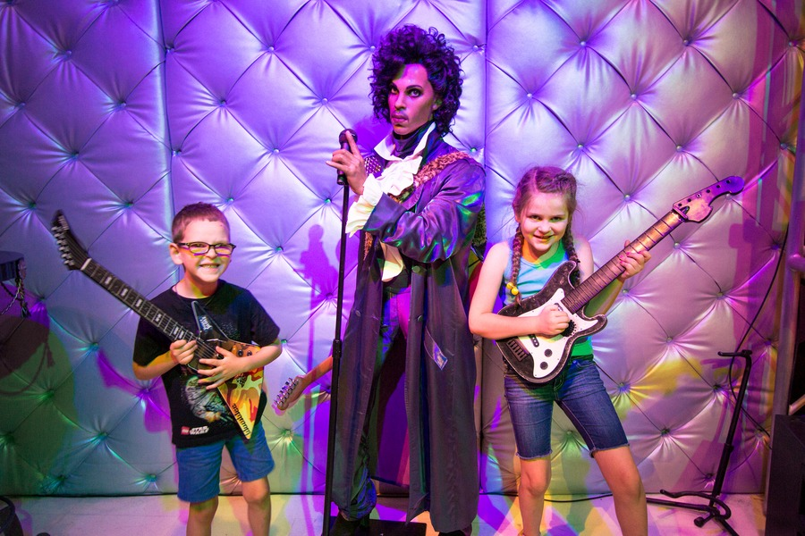 Las Vegas with kids - Prince