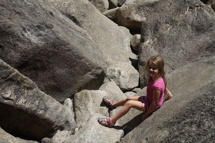 First Visit To Yosemite - rocks