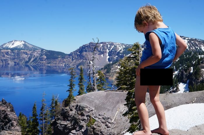 14 Day Pacific Northwest Road Trip - crater lake wee