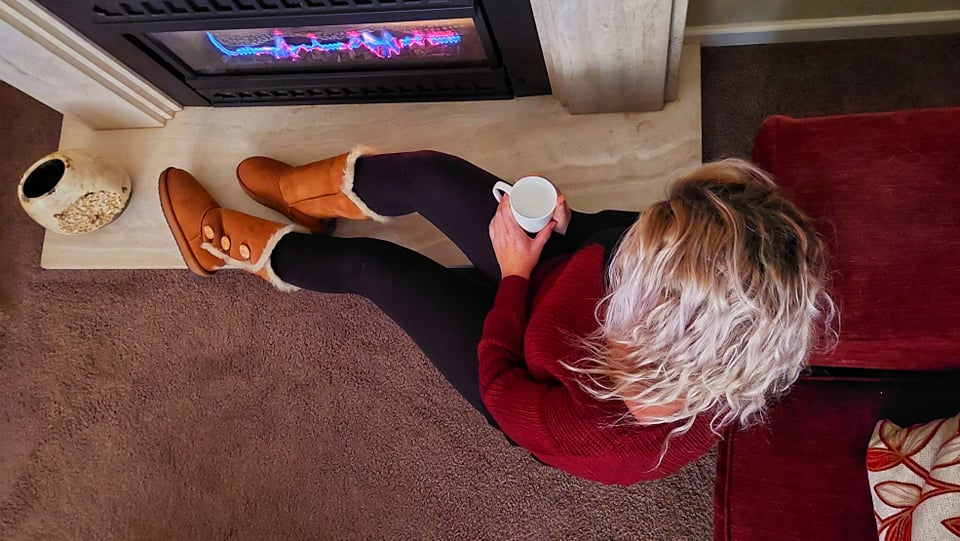 the perfect winter getaway - Uggs
